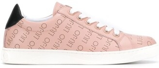Liu Jo Perforated Logo Sneakers