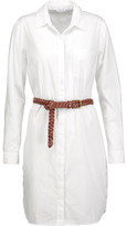 Splendid Belted cotton-poplin shirt dress
