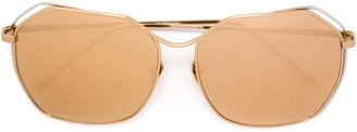 Linda Farrow '350' Sunglasses