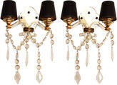 One Kings Lane Vintage 1940s French Sconces, Pair