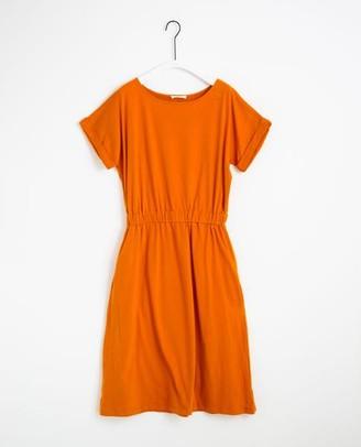 Beaumont Organic Marissa Organic Cotton Dress In Bronze - Bronze / Small