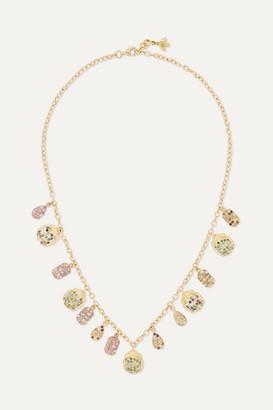 Carolina Bucci 18-karat Gold Multi-stone Necklace