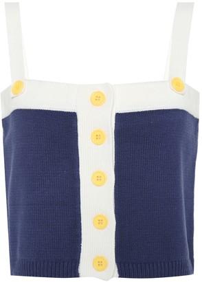 STAUD Newton knit tank top