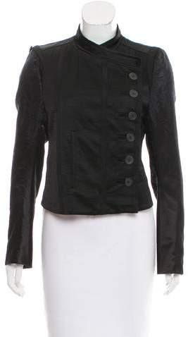 Ann Demeulemeester Jacquard Button-Up Blazer w/ Tags