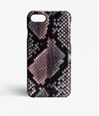 Factory The Case Iphone 7-8 Python Multicolor Sunset Pink