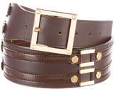 Tory Burch Leather Wide Belt