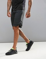 New Look Sport Shorts With Hem Insert In Black