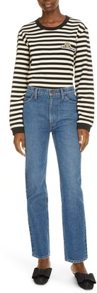 Marc Jacobs The Surf Stripe Long Sleeve Shirt