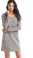 Gap A-line zip long sleeve dress