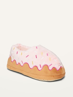 Old Navy Gender-Neutral Cozy Donut Slippers for Kids