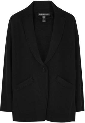 Eileen Fisher Black Wool Jacket