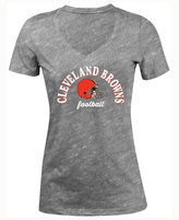 5th & Ocean Women's Cleveland Browns Checkdown LE T-Shirt