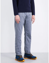 Stone Island Grey Classic Tapered Mid-rise Cotton-sateen Jeans