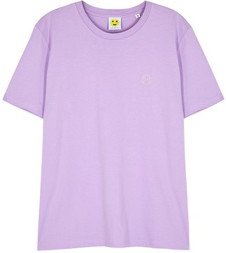 Yeah Right Nyc Seashells lilac cotton T-shirt
