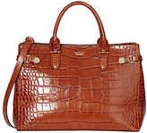 Modalu Emerson Leather Croc Large Grab Bag
