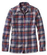 L.L. Bean Freeport Flannel Shirt Plaid