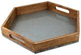 Thirstystone Hexagon Galvanized/Wood Tray