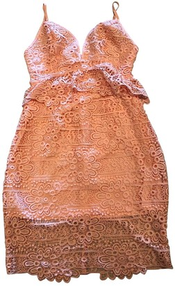 GUESS Pink Lace Dresses