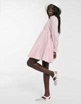 Daisy Street mini smock dress with full skirt