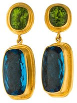 Yossi Harari 24K Drop Earrings