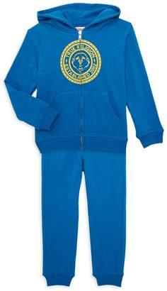 True Religion Little Boy's Cotton-Blend Hoodie & Jogger Pants Set