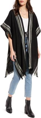 Treasure & Bond Twill Weave Blanket Wrap