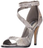 Michael Antonio Women's Joyd Snake Open-Toe Pump