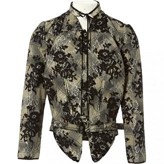 Huishan Zhang Black Cotton Jacket for Women