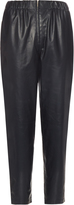 The Row Arez leather trousers