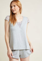 ModCloth Shimmer Off to Sleep Pajamas in S