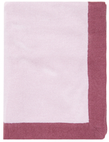 Portolano Cashmere Blend Contrast Border Throw