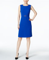 Kasper Embellished Sheath Dress
