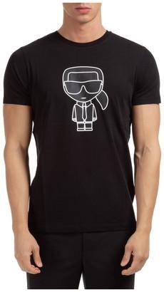 Karl Lagerfeld Paris K/Ikonik Print T-Shirt