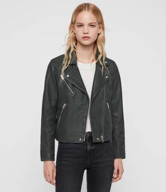 AllSaints Arden Leather Biker Jacket