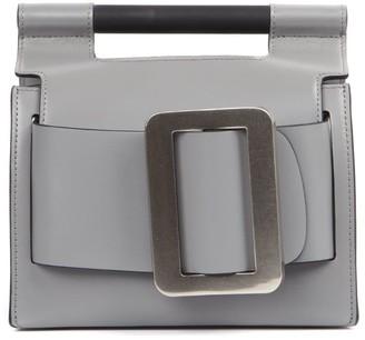 Boyy Grey Leather Romeo Bag