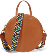 Clare Vivier Alistair Small Leather Shoulder Bag - Tan