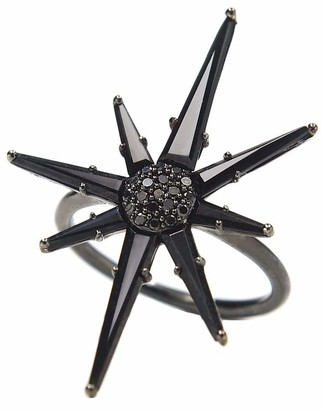 BONDEYE JEWELRY Hera Black Spinel Ring