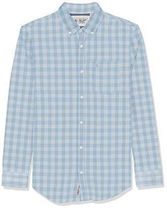 Original Penguin Men's Long Sleeve Gingham Button Down Shirt