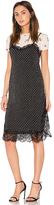 Free People Margot 2FR Slip Dress in Black. - size 0 (also in 2,4)