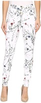 Hue Floral Curvy Fit Denim Leggings Women's Jeans