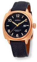 Shinola Brakeman 40MM Stainless Steel & Leather Watch