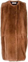 Marni fur waistcoat