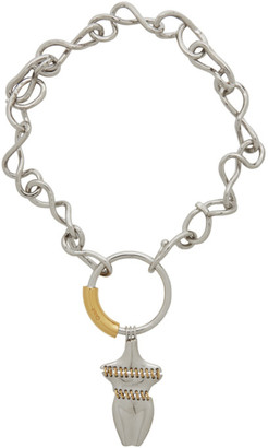 Chloé Gold and Silver Femininities Necklace