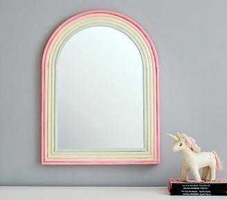 Pottery Barn Kids Rainbow Enamel Mirror