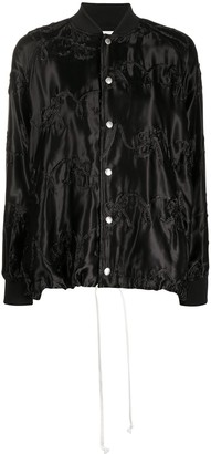 COMME DES GARÇONS GIRL Single-Breasted Fitted Blazer