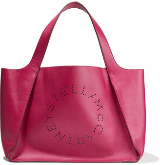 Stella McCartney Perforated Faux Leather Tote