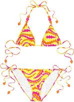 Paisley Dot print bikini