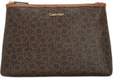 Calvin Klein Monogram Large Cosmetics Case