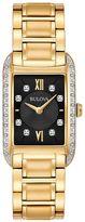 Bulova Women's Diamond Stainless Steel Watch - 98R228