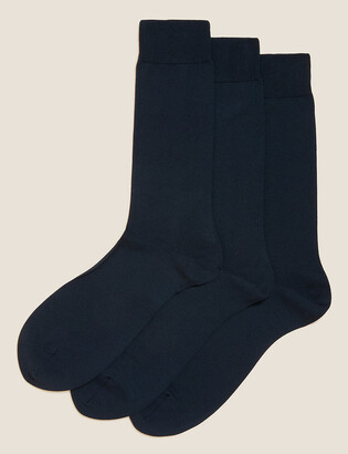 Marks and Spencer 3 Pack Luxury Egyptian Cotton Socks